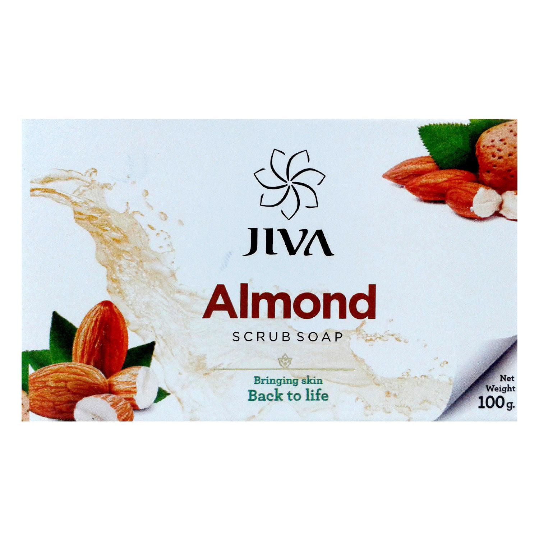 アーモンドスクラブソープ|JIVA