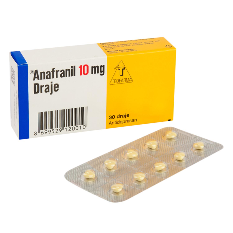 アナフラニール10mg(クロミプラミン)