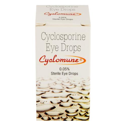 シクロミューン点眼薬(シクロスポリン)0.05%