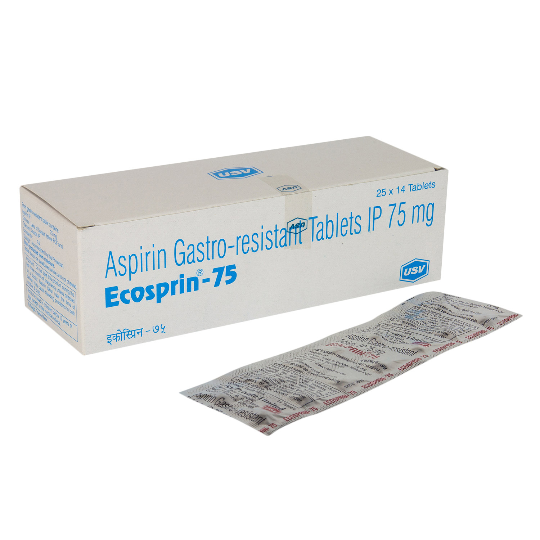 エコスピリン75mg(アスピリンジェネリック)