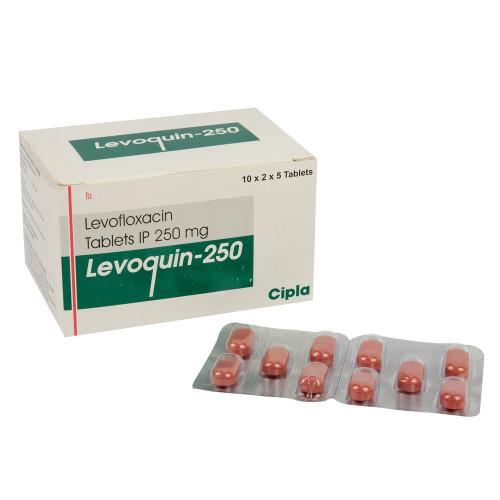 クラビットジェネリック(レボクイン)250mg10錠