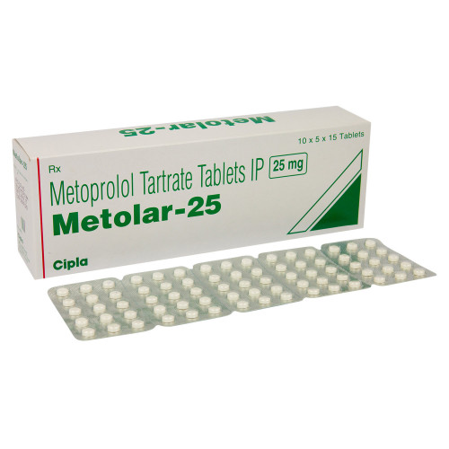 メトラール(酒石酸メトプロロール)25mg