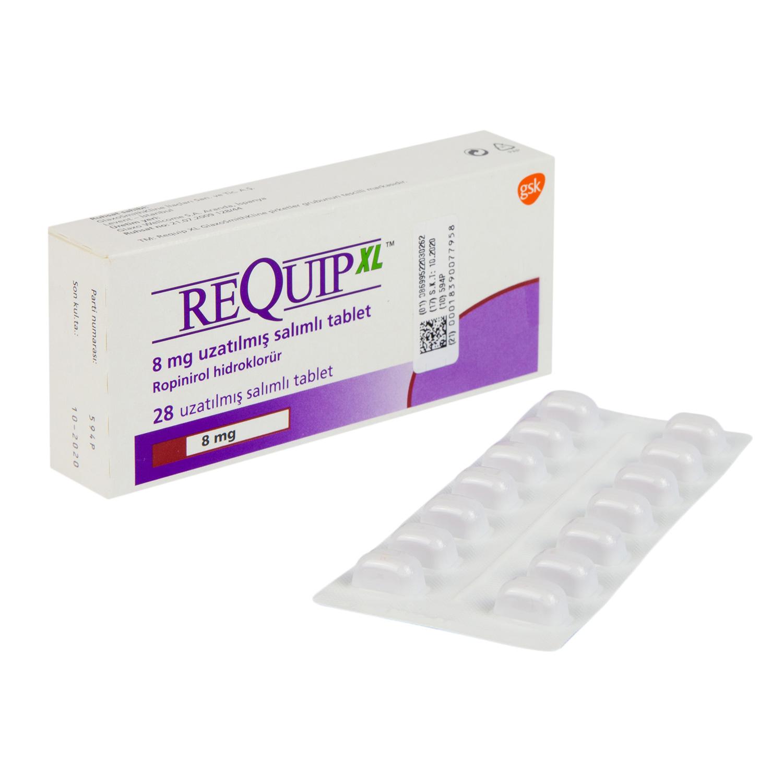 レキップ8mg(塩酸ロピニロール)