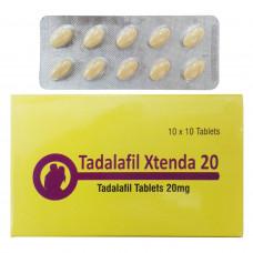 タダラフィルエクステンダ20mg10錠