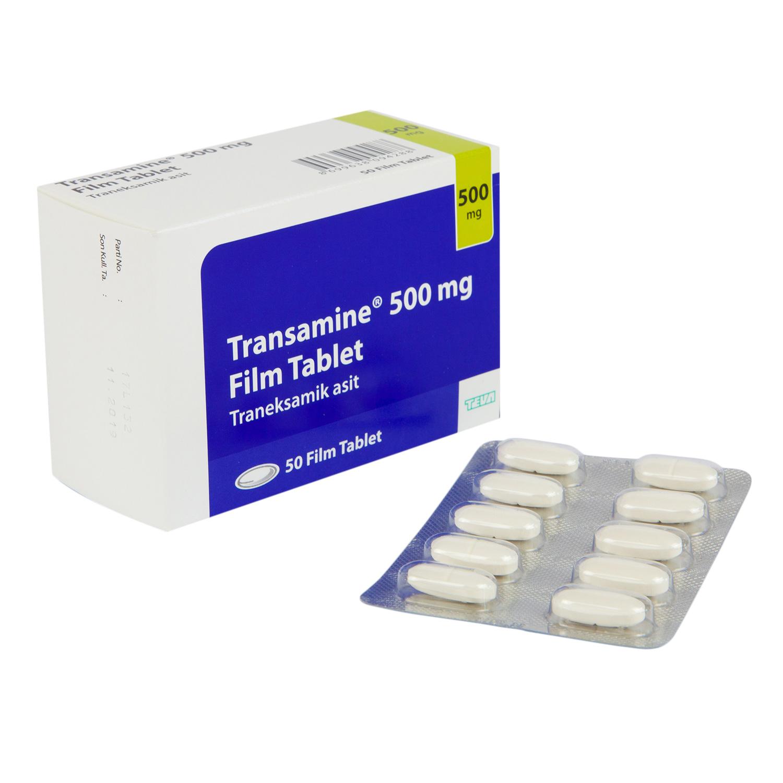 トランサミン500mg (トラネキサム酸)