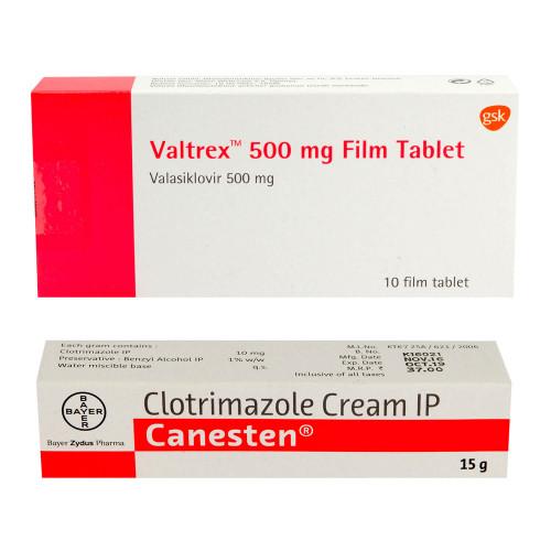 【人気の抗生物質】クロトリマゾールクリーム+バルトレックス(2,580円お得!)
