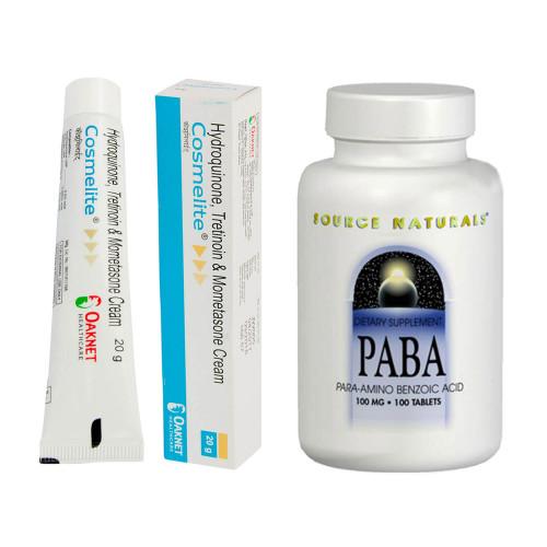 コスメライトクリーム3本+PABA(美容ビタミン)