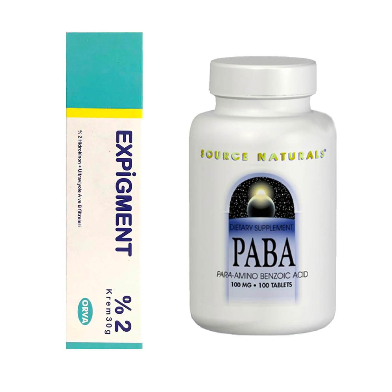 ハイドロキノン2%クリーム3本+PABA(美容ビタミン)セット
