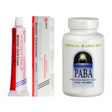 ハイドロキノン4%クリーム3本+PABA(美容ビタミン)セット