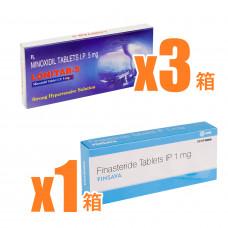 【AGA治療セット】フィンサバ+ロニタブ5mg1ヶ月分セット