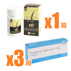 【AGA治療セット】フィンサバ+ミノキシジルタブレット3ヶ月分セット
