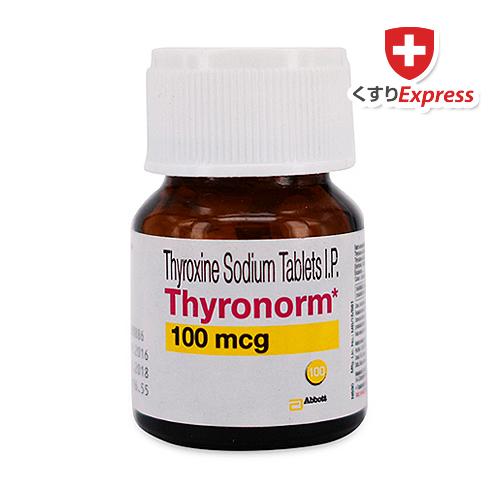 タイロノーム(レボチロキシンナトリウム)100mcg