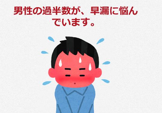 早漏の症状